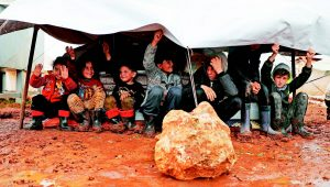 戰火下的敘利亞兒童
