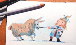 3歲牧羊女