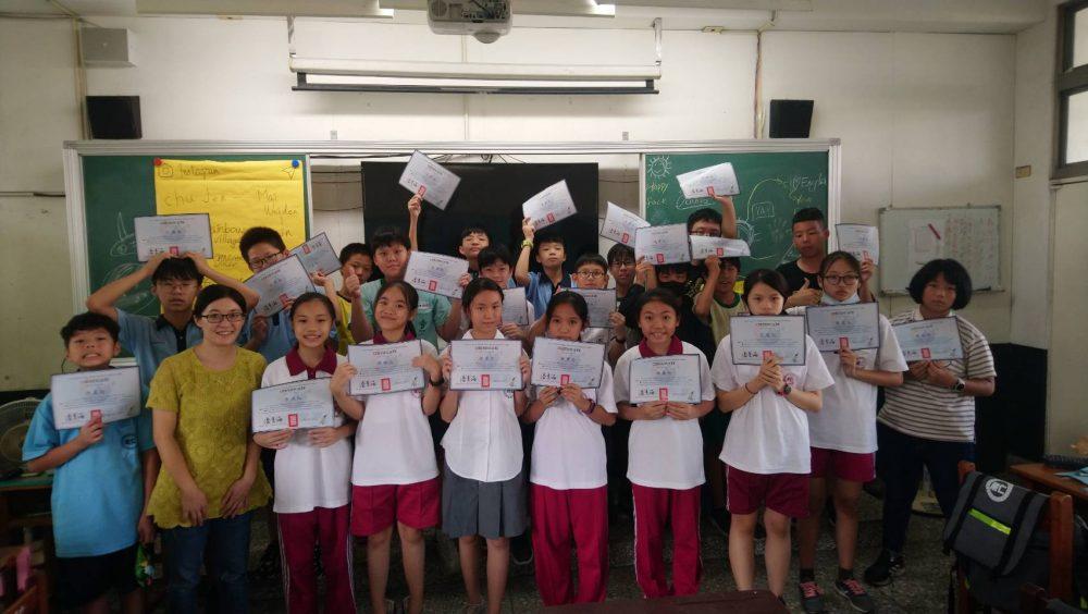 台中居仁國中英文營 讓新鮮人探索世界