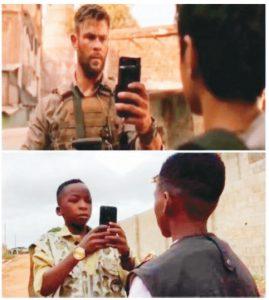 奈及利亞小子拍《驚天營救》 雷神喊讚