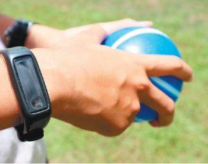 手環+行動支付 學生健身動起來