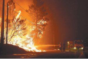 用紙偵測火災