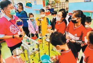 竹市國小科學競賽 263人比拚臨場反應