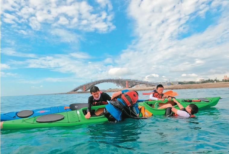 馬公高中海洋課 面對恐懼悟人生