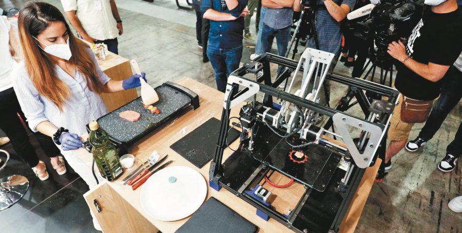 3D列印牛排 將掀飲食革命