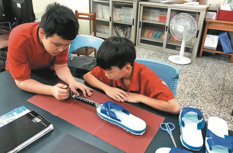 研究鞋底摩擦力 小學生抱回科學競賽亞軍