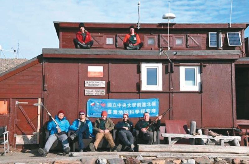 台灣團隊探索北極