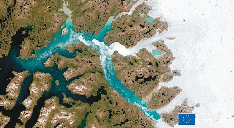 地球好熱   格陵蘭首次降雨