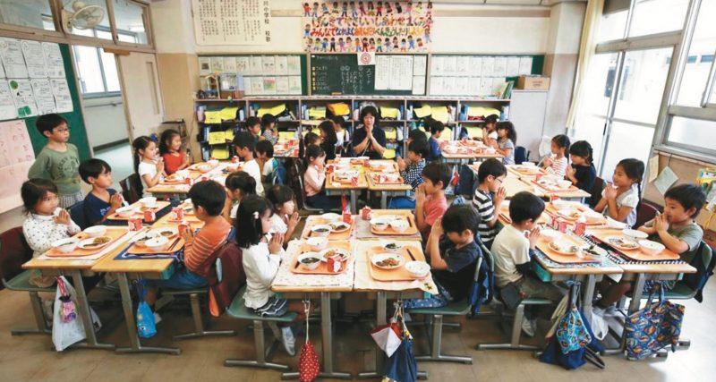 日本中小學生 從飲食認識世界